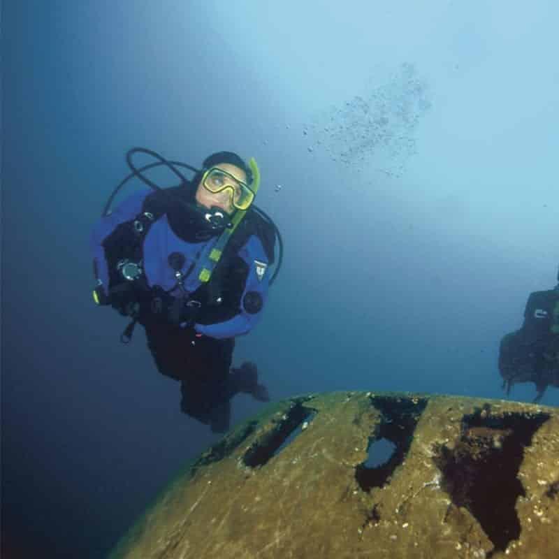 Dry Suit Diver 2020